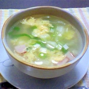 レタスの中華風スープ★