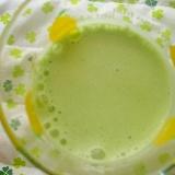 白豆&ブロッコリー&YGでミルキー青汁~☆
