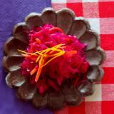 蜜柑と五香粉の香りで★人参と紫キャベツの中華マリネ
