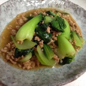 中華風☆青梗菜の炒め物