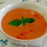 簡単が身上:朝の冷製トマトポタージュ