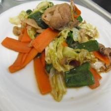 豚肉といろいろ野菜の焼肉炒め