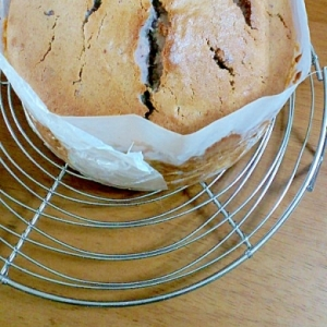 紫芋のバターケーキ♪
