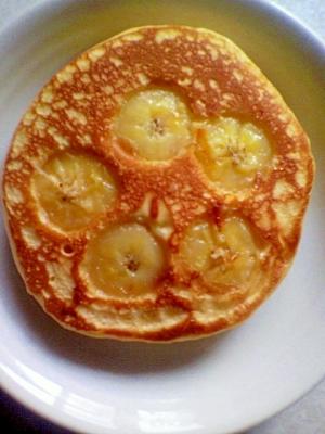 バナナのお花ホットケーキ✿
