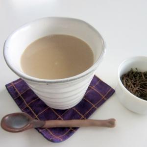 香り漂う☆ほうじ茶ラテ