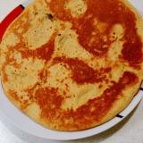 大豆粉いりクレープ風ビッグパンケーキ