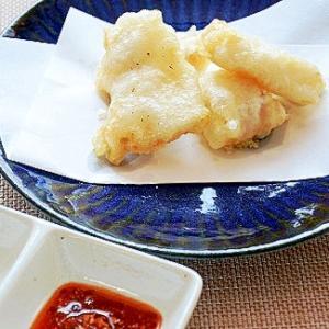 サクサク天ぷら with 洋風&エスニック味