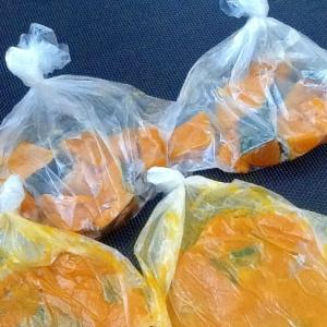 かぼちゃ冷凍保存