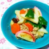 かまぼこと野菜の中華炒め++