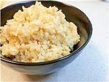 圧力鍋deふっくら玄米