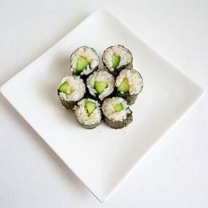 かっぱ巻き きゅうりの細巻寿司