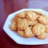 食物繊維豊富なサクサク オートミールクッキー
