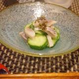 【福岡食材】このしろと胡瓜の紫蘇の実和え