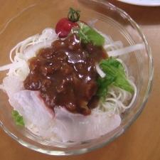 鯛入りジャージャー麺