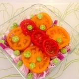 ♡茄子とトマト インスタ映えサラダ♡