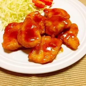 フライパン一つで!子供喜ぶ鶏むね肉のオレンジチキン