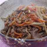 牛肉と根菜のしぐれ煮