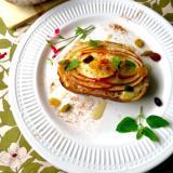 秋香る 焼き林檎トースト