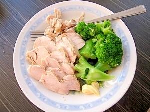 マイヤー電子レンジ圧力鍋(13)鶏ムネ肉のハム