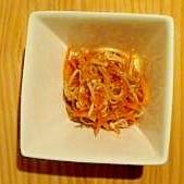 えのきと人参の中華風サラダ