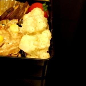 お弁当☆カリフラワーの辛子マヨ和え☆