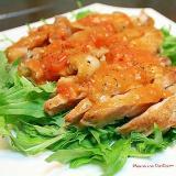 鶏のトマトグレイビー