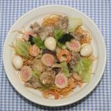 簡単おいしい☆濃厚出汁☆乾燥海鮮たっぷりの皿うどん