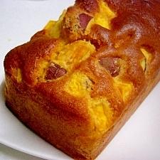バターなしでもおいしい!サツマイモとリンゴのケーキ