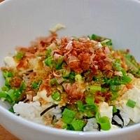 ヘルシー!!簡単でおいしい☆お豆腐丼