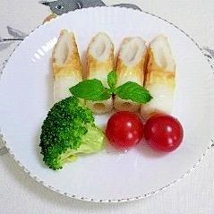 ちくわとブロッコリーの簡単サラダ