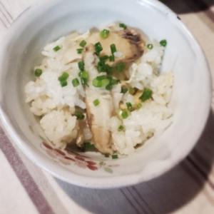 一人用土鍋で松茸ご飯