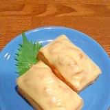 厚揚げのキムチチーズ