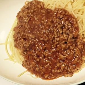 〈簡単〉レトルトをひと工夫♪ミートソーススパゲティ