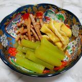 ゼンマイとふきの煮物