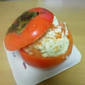 柿の簡単白和え