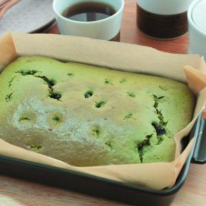 グリラーで、HMで作る 黒豆入り抹茶パウンドケーキ