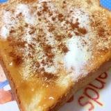 ピーナッツ・シナモン・おからトースト