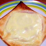 ハムケチャマヨのチーズトースト