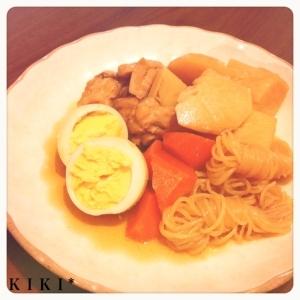 圧力鍋でほっこり柔らか 里芋と鶏肉の煮物