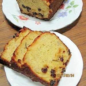 りんごバナナレーズンのパウンドケーキ(我が家の味)