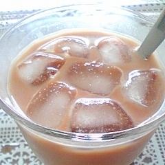 アイス☆黒糖きなココア♪