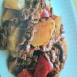 牛肉とジャガイモのカレー炒め