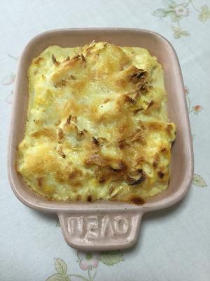 豆腐と卵でグラタン風