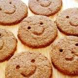 香ばしい♪「米ぬかクッキー」ヘルシー♪