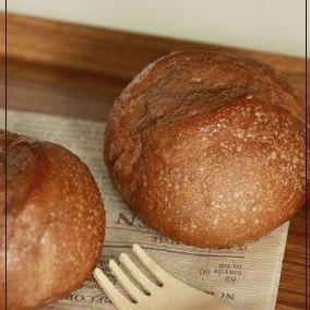 自家製酵母 de ココア&シュガーバター のパン