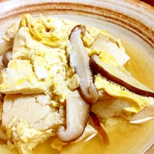 フワフワ〜な高野豆腐の煮物。