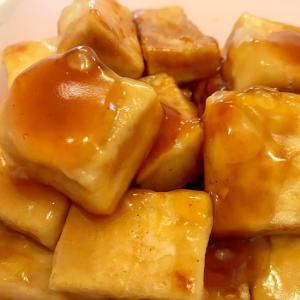 お子様も喜ぶ!モチっと高野豆腐の甘辛バター焼き