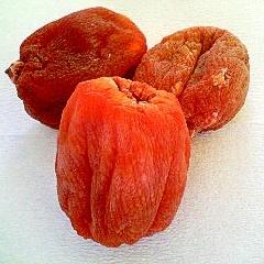 甘柿でつくる干し柿