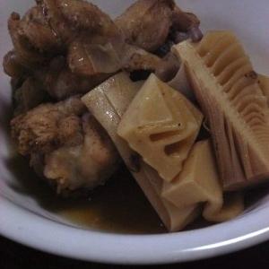 さめてもおいしい たけのこと鶏手羽元の煮物