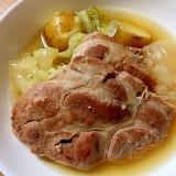 豚肩ロースと野菜の絶品ポトフ風煮込み